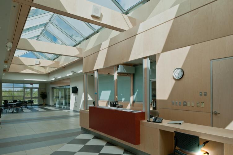 Interior View, reception