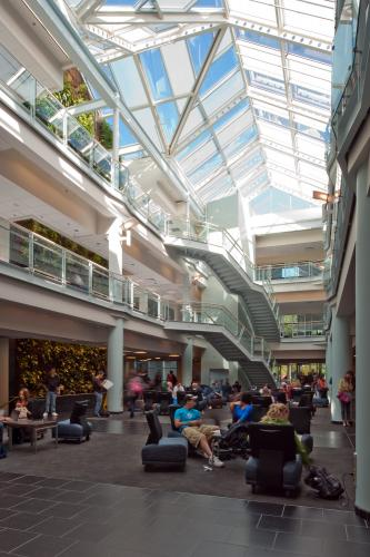 Interior, Atrium